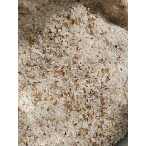 Fleur de sel au poivre de Penja blanc