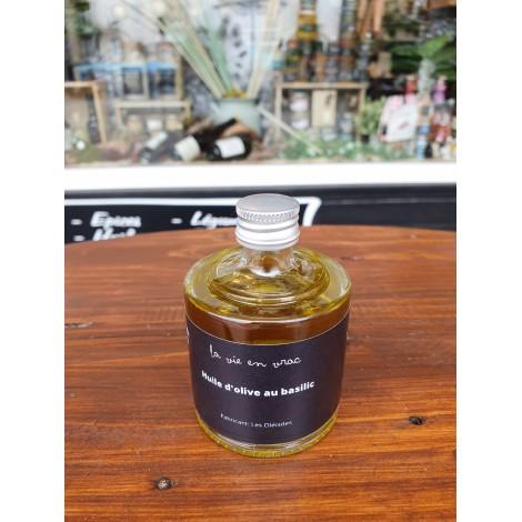 Huile d'olive Basilic 5cl