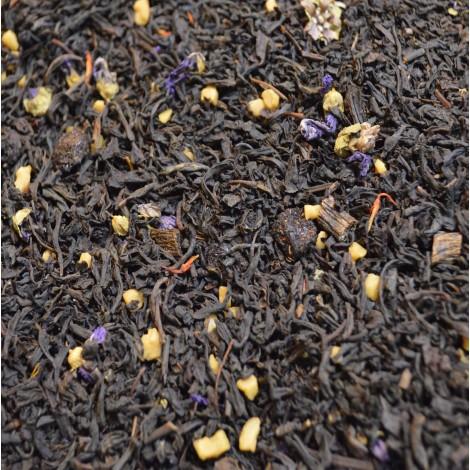 thé noir vanille cerise pistache cookie