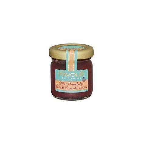 Framboise Biscuit rose de Reims