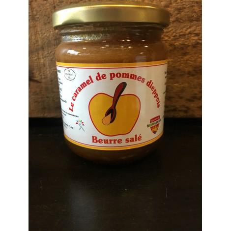 Caramel de pommes Dieppois Beurre salé 230gr