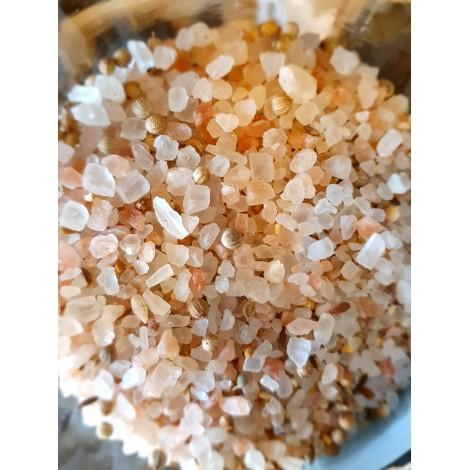 Diamant de sel de l'Himalaya aux épices grillées
