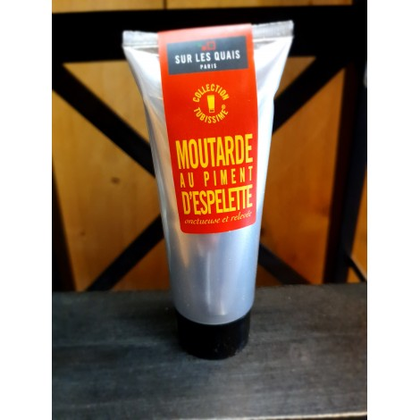 Moutarde tube au piment d'Espelette