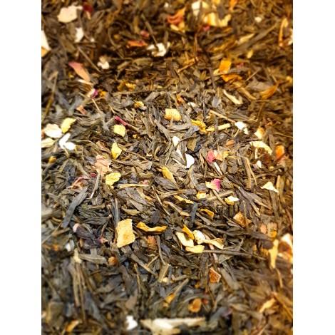 thé vert fraise pamplemousse vanille Un été à Capri