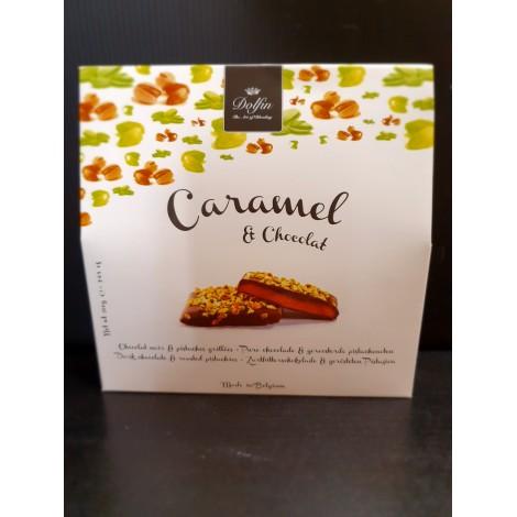 Caramel & chocolat pistache grillée
