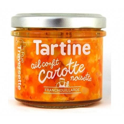Ail confit, carotte, noisette